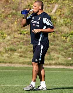 Técnico do Real Madrid manda Ronaldo correr
